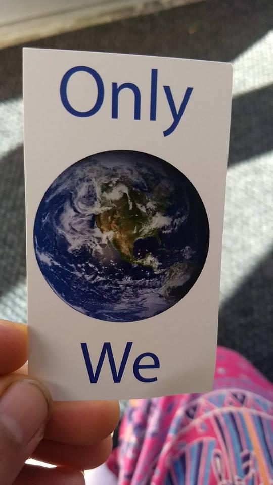 Only We card at Bioner